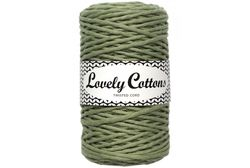 Twisted cord 3 mm, Light Olive