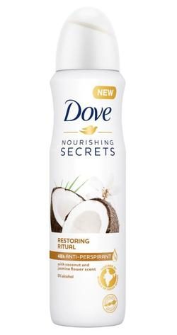 Антиперспирант Dove Coconut&Jasmine Flower Scent, 150 мл