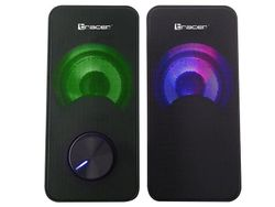 cumpără Boxe multimedia pentru PC Tracer Speakers 2.0 Loop RGB USB în Chișinău