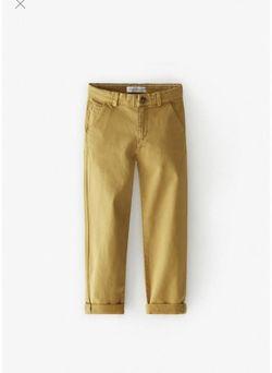 Pantaloni ZARA Ocru 9959/661/703