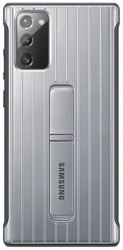 cumpără Husă pentru smartphone Samsung EF-RN980 Protective Standing Cover Silver în Chișinău