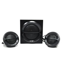 Sistem audio, FENDA, 2x11W+3W, 3.5mm, 220-240V, Negru
