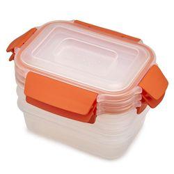 купить Контейнер для хранения пищи Joseph Joseph 81084 Набор из 3 контейнеров 540 ml в Кишинёве