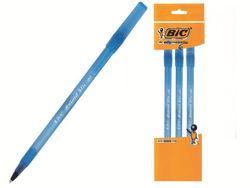 Набор ручек шариковых BIC Round Stic 3шт, синих