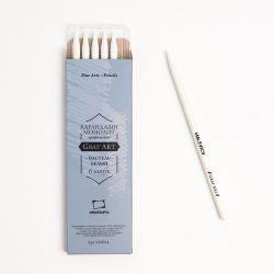 Creion pastel monolit Malevich, alb 1 buc.