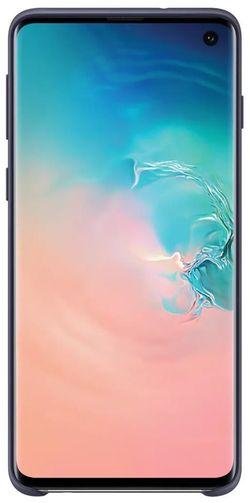 купить Чехол для моб.устройства Samsung EF-PG973 Silicon Cover S10 Darkblue в Кишинёве