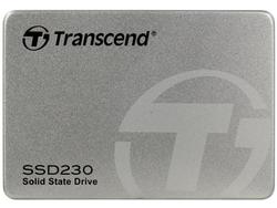 2,5-дюймовый твердотельный накопитель SATA 512 ГБ Transcend «SSD230» [R / W: 560/520 МБ / с, 85/85 КБ операций ввода-вывода в секунду, SM2258, 3D NAND TLC]