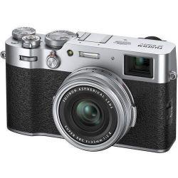 купить Фотоаппарат компактный FujiFilm X100V silver в Кишинёве