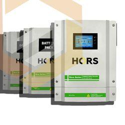 Set de echipamente pentru stația solară hibridă monofazată Hors Power