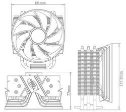 Cooler Procesor DeepCool Gammaxx 300R