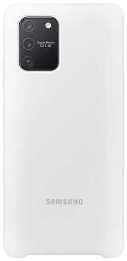 купить Чехол для моб.устройства Samsung EF-PG770 Silicone Cover White в Кишинёве