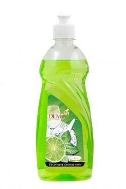 Detergent lichid p/u  vesela cu glicerina Lime 500 ml*