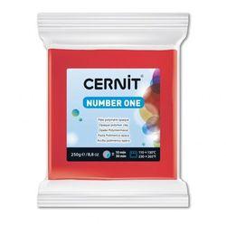 Полимерная глина CERNIT N1 250гр, красный №400
