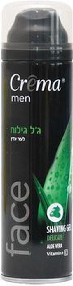 Gel de bărbierit pentru piele sensibilă Creme Aloe Vera 200 ml