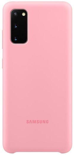 cumpără Husă telefon Samsung EF-PG980 Silicone Cover Pink în Chișinău