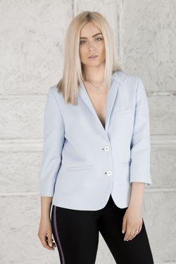 Jachetă albastră