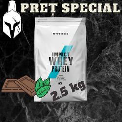 Сывороточный протеин (Impact Whey Protein) - Шоколад и мята - 2.5 KG