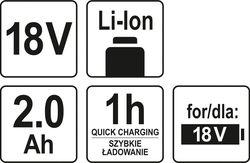 Acumulator pentru scule electrice Yato YT82842
