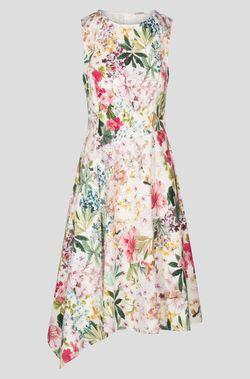Платье ORSAY Белый с цветами
