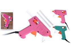 Пистолет для клея + 2 клея силиконовых