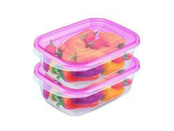 Набор емкостей пищевых EZ Lock 2шт, 0.9l, 31X14X6cm