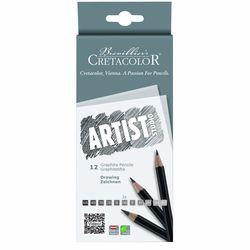 Set art. creioane 12 buc. Artist Studio - Graphitstifte Cretacolor