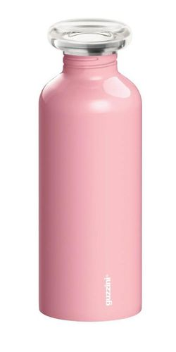 купить Бутылочка для воды GUZZINI 310273 из нержавеющей стали 650 мл розовая в Кишинёве