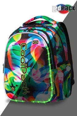 Rucsac  CoolPack JOY L LED RAINBOW LEAVES (44x32x20)