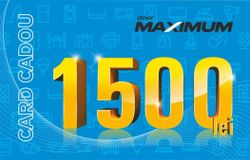 купить Сертификат подарочный Maximum 1500 MDL в Кишинёве