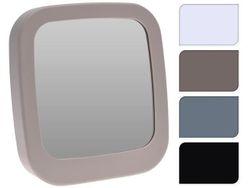 Зеркало прямоугольное 19.5X18.5cm, 4 цвета