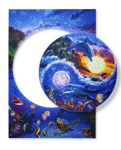 """Mosaic """"puzzle"""" 1149 """"Lumea subacvatică"""" (Puzzle în puzzle), cod 40795"""