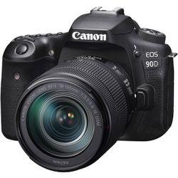 cumpără Aparat foto DSLR Canon EOS 90D + 18-135 IS nano USM (3616C029) în Chișinău