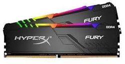 32 ГБ DDR4-3733 МГц Kingston HyperX FURY RGB (комплект из 2x16 ГБ) (HX437C19FB3AK2 / 32), CL19-23-23, 1,35 В