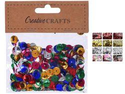 Набор блесток креативный 15g, 12 дизайнов Creative Crafts