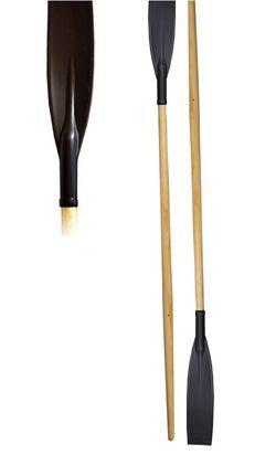 Весла деревянные с пластиковыми лопастями (пара) (1923)