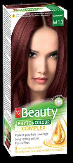 Vopsea p/u păr, SOLVEX MM Beauty, 125 ml., M13 - Mahon