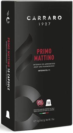 Capsule pentru aparatele de cafea Carraro Primo Mattino Compatible Nespresso 10caps