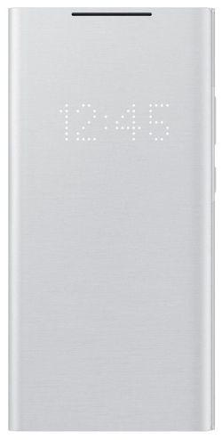 купить Чехол для смартфона Samsung EF-NN985 LED View Cover White Silver в Кишинёве