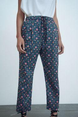 Pantaloni ZARA Imprimare color 4043/254/400.