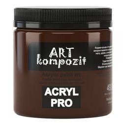 Акриловая  краска ART Kompozit, 430 мл, умбра жженая (492)