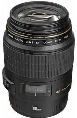 купить Объектив Canon EF 100 mm f/2.8 USM в Кишинёве