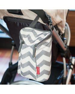 Термо-сумка для бутылочек Skip Hop Grab&Go Chevron