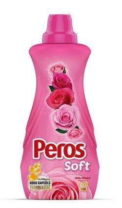 Концентрированный Бальзам-ополаскиватель для белья PEROS 1440мл Magic of Rose