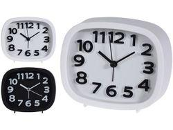 Ceas-desteptator de masa 14X10X4cm, 2 culori