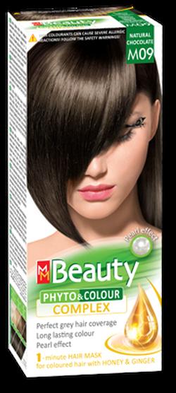 Краска для волос,SOLVEX MM Beauty, 125 мл., M09 - Натуральный шоколад