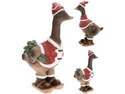 Сувенир керамический Гусь рождественский 45cm, 2 дизайна