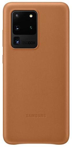 cumpără Husă telefon Samsung EF-VG988 Leather Cover Brown în Chișinău