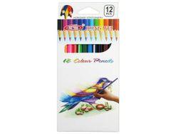 Набор карандашей цветных 12шт HW