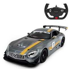 Jucărie teleghidată Rastar Mercedes AMG GT3 Performance 1:14 Grey