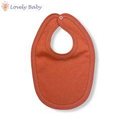 Слюнявчик оранжевый